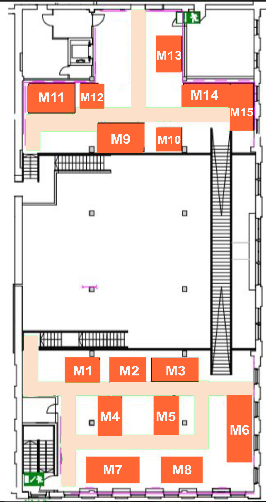 Hall plan Modder gallery PURE VAPE 2019
